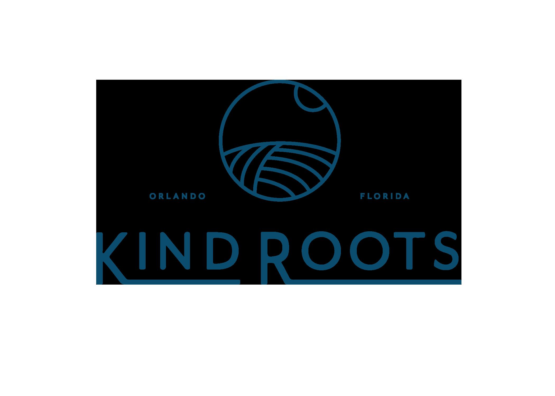 Design by Good South / Kind Roots Logo Design