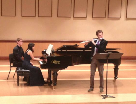Recital at Chapman University