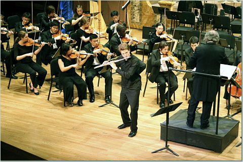 Performing the Rivier Flute Concerto