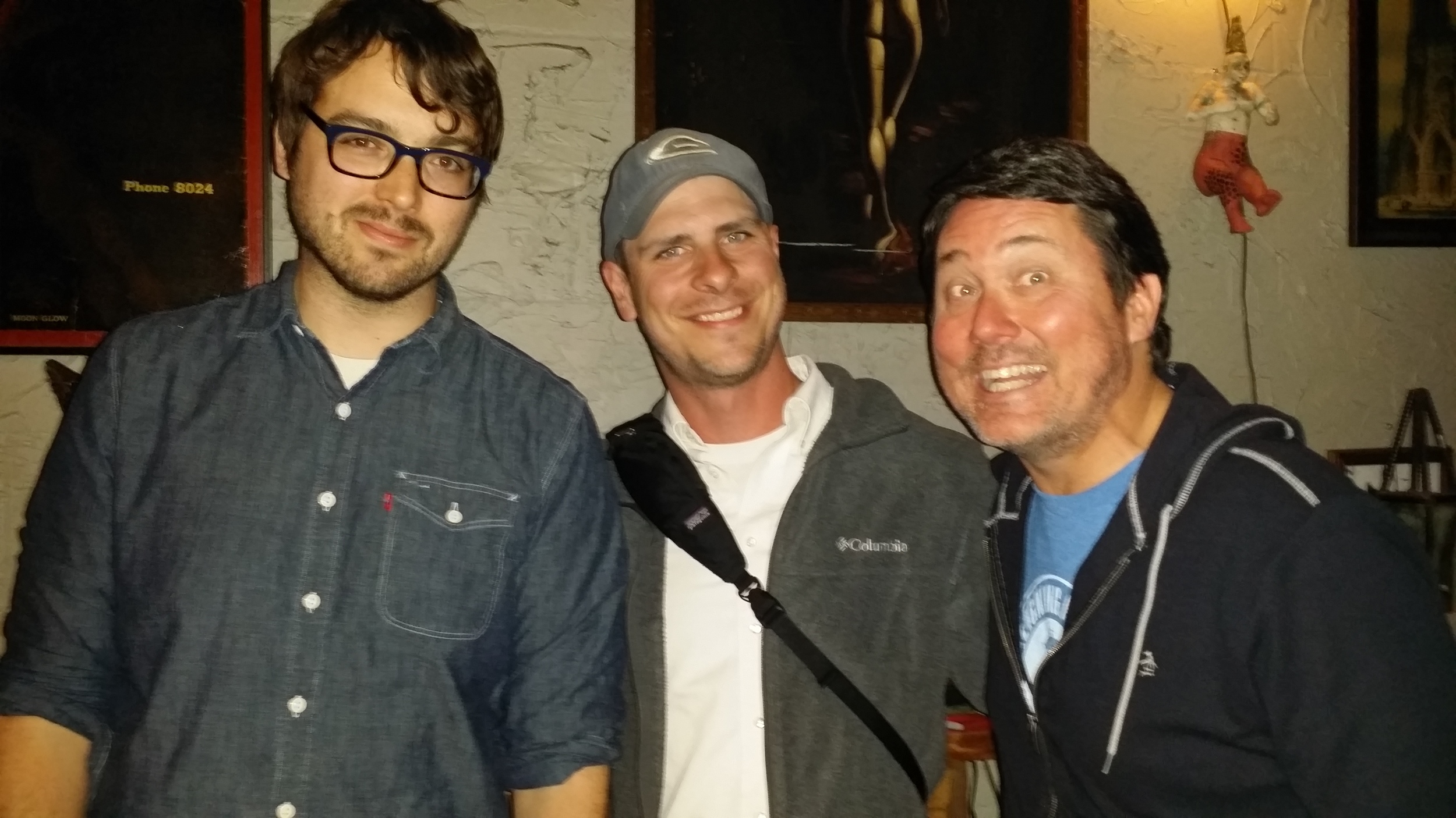 Recently, Rett had the pleasure of meeting a truly talented comedian named Jonah Ray. Then Doug Benson suddenly jumped into the picture.