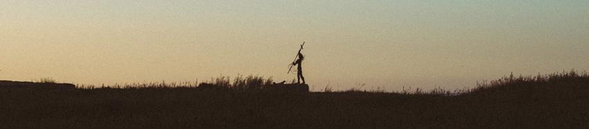 gaspesie-quebec-canada-percé-statue-coucher-de-soleil-sunset