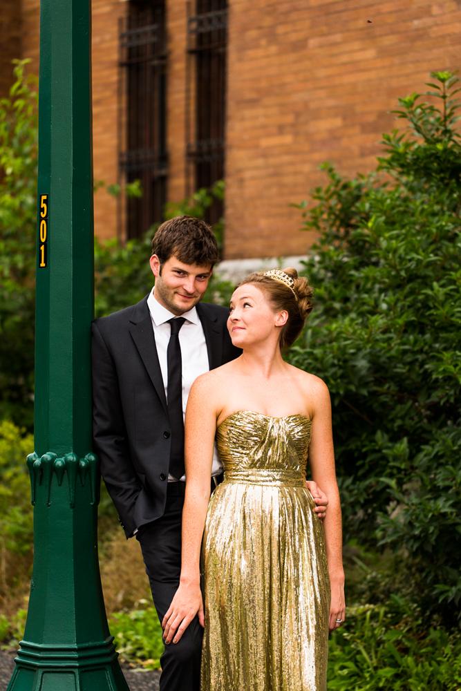 Armory Square   Syracuse wedding couple