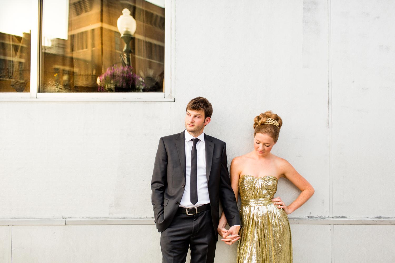 Armory Square   Syracuse wedding portrait