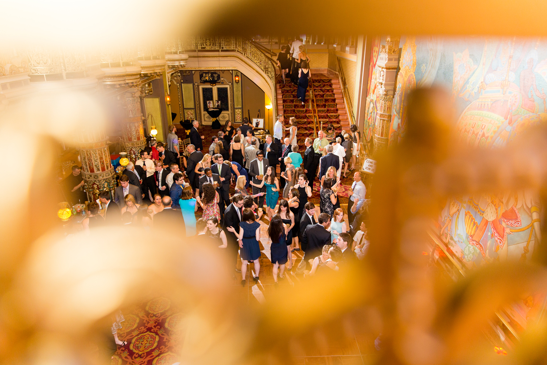Landmark Theatre wedding reception party