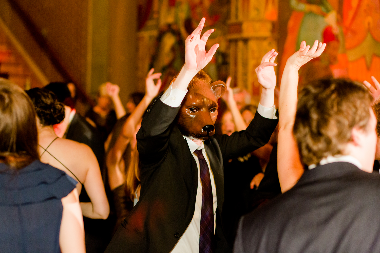 Landmark Theatre wedding celebration