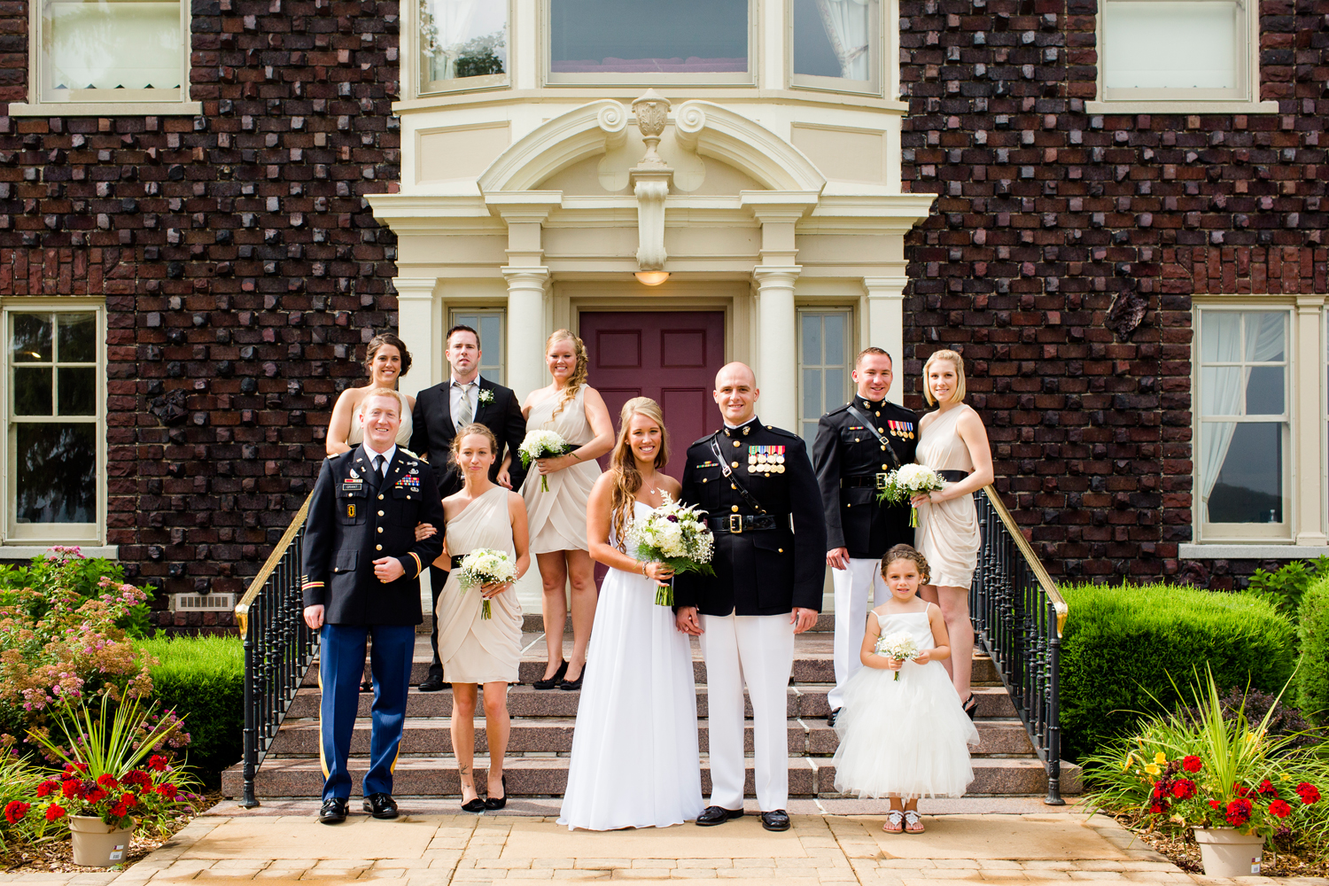 Bridal party | Traditions at the Glen