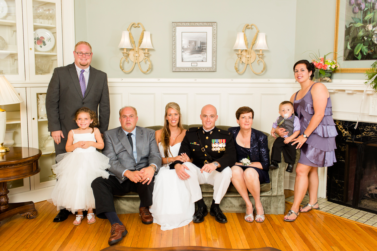 Family portraits at Traditions at the Glen