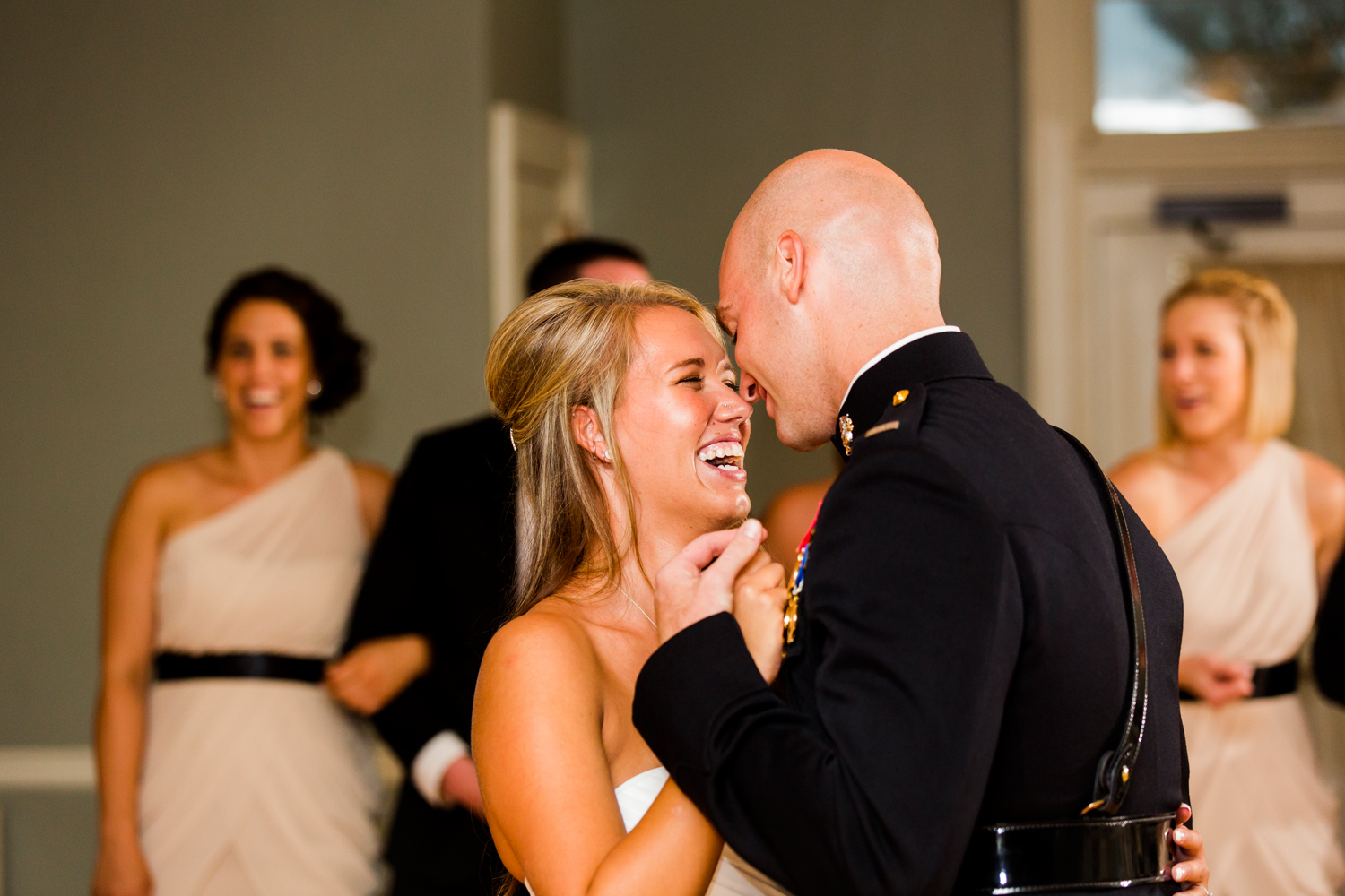 Reception | Family portraits at Wedding ceremony at Traditions at the Glen