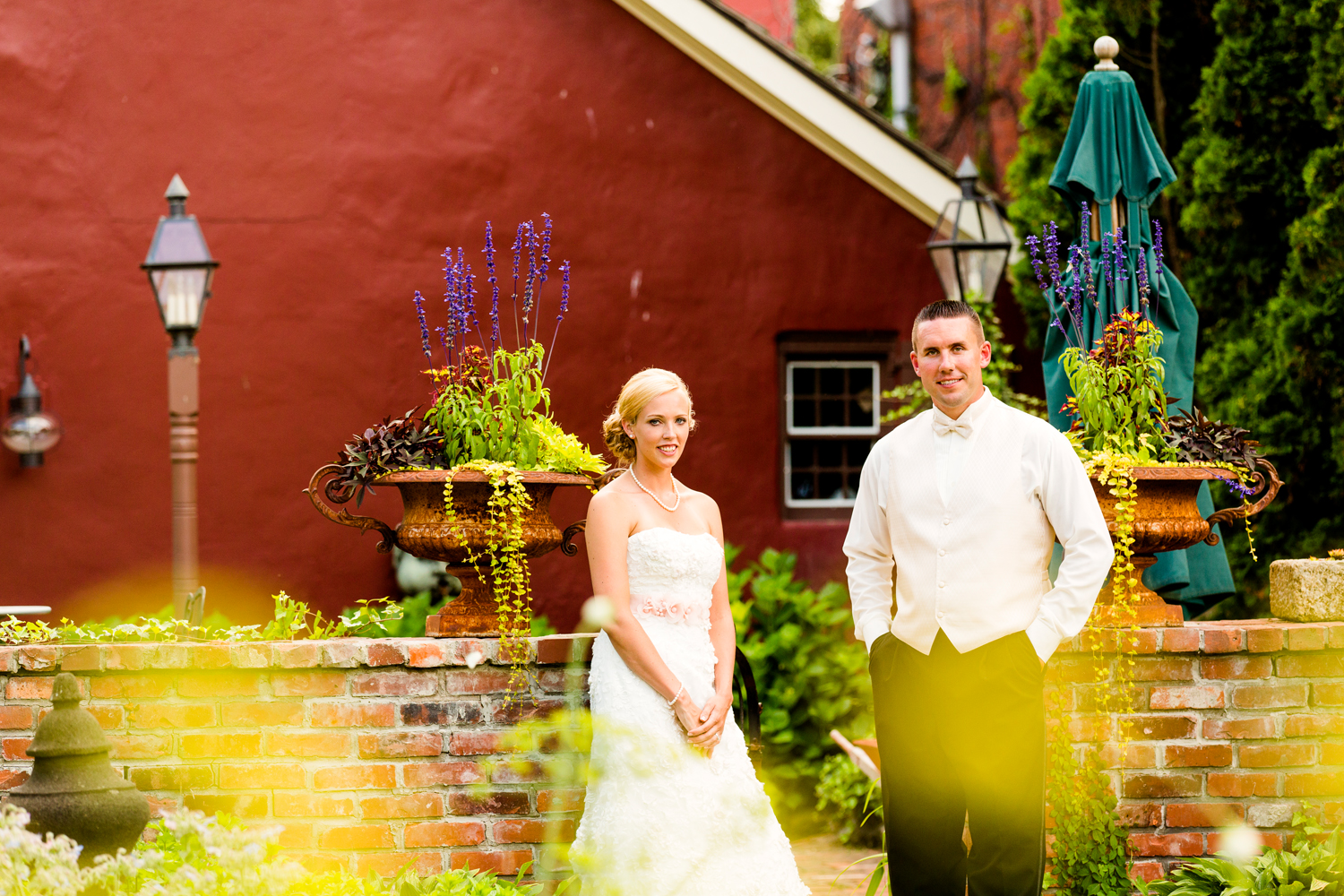 Tin Pan Galley wedding portrait