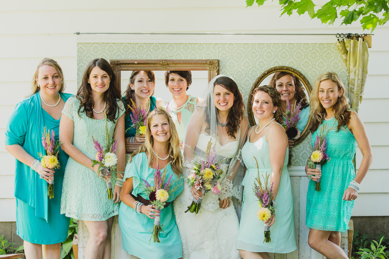 bridal party Oswego, NY