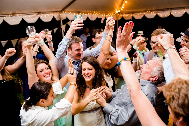backyard wedding in Oswego NY