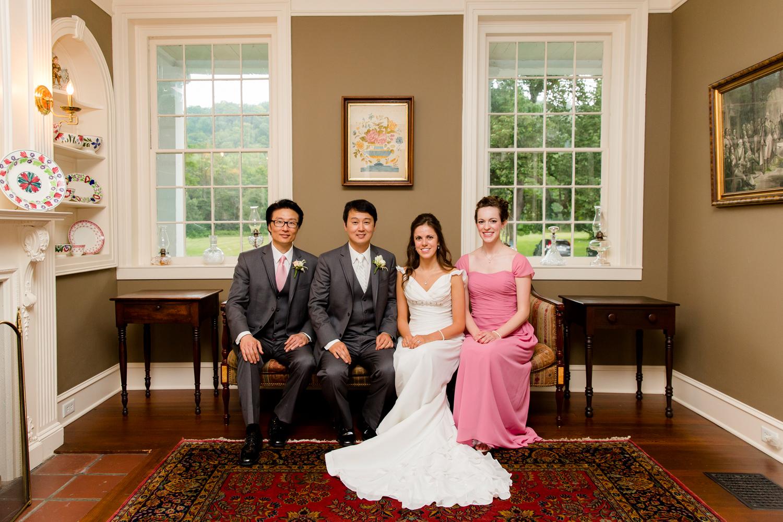 Fontainebleau Inn bridal party