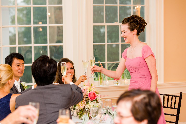 Fontainebleau Inn wedding reception
