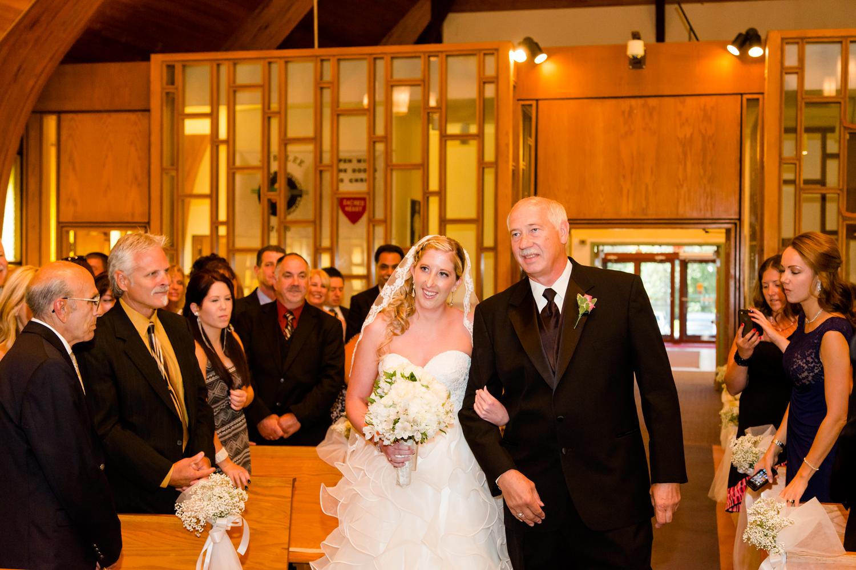 Sacred Heart Church wedding
