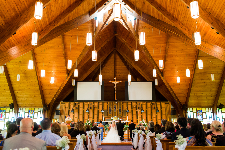 Sacred Heart Church | Cicero, New York wedding