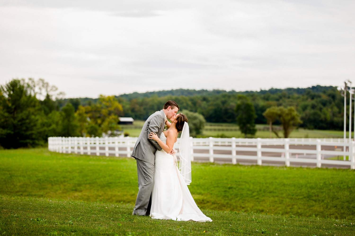 Vernon Downs Casino wedding portraits