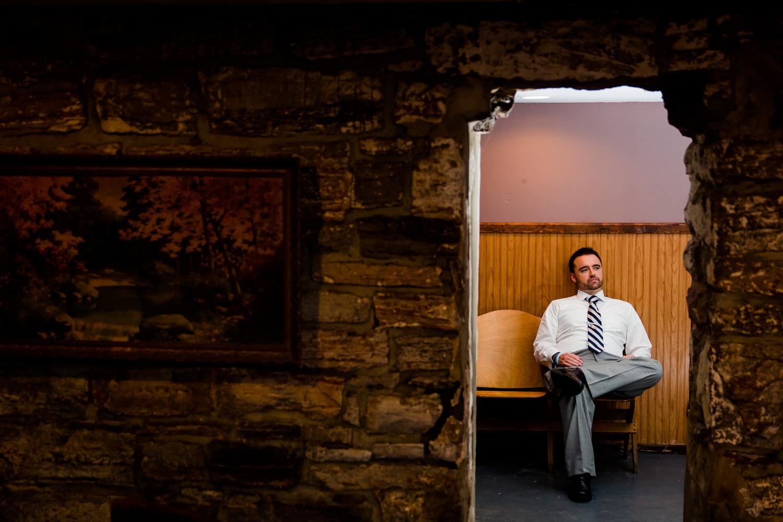 Beardslee Castle basement groom