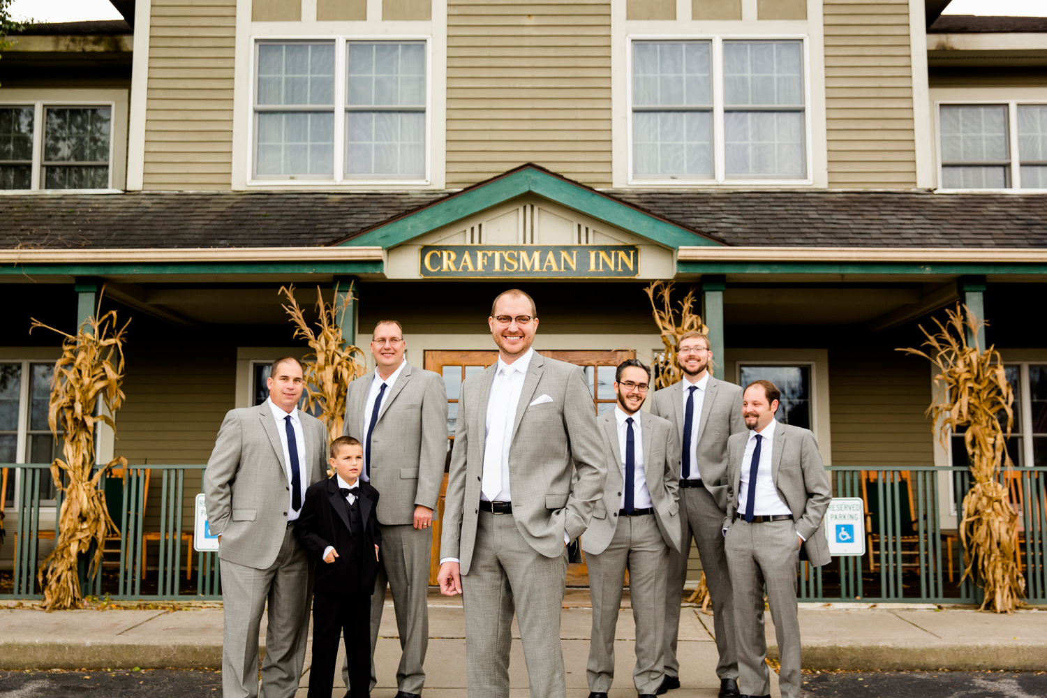 Craftsman inn wedding