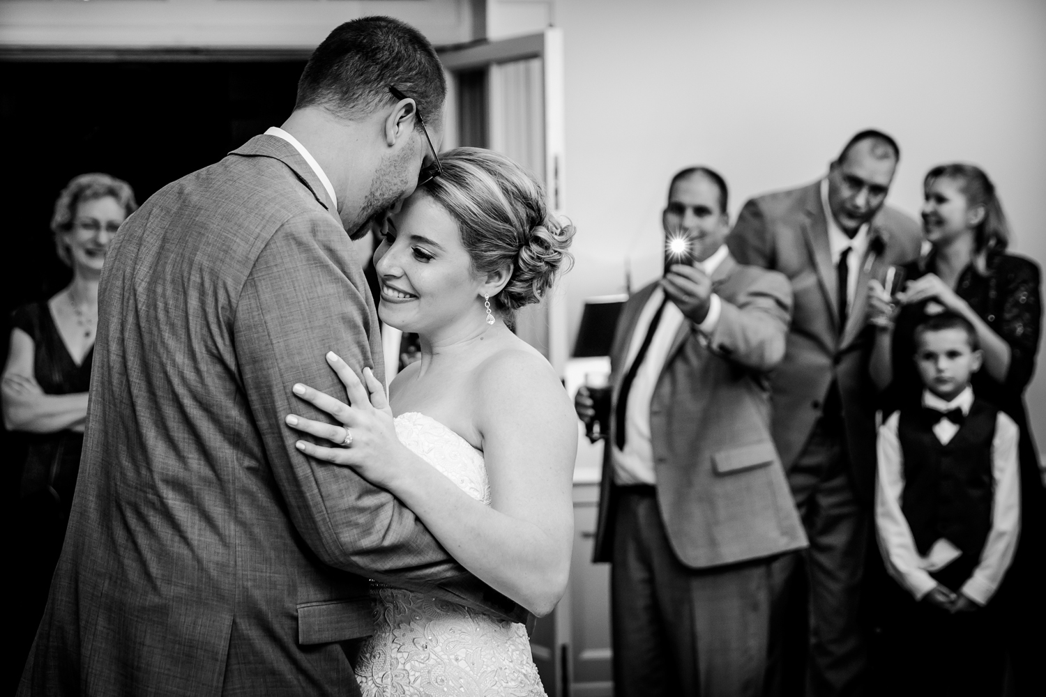 Onondaga Country Club wedding first dance