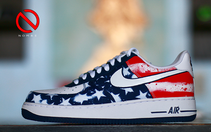 Nike Air Force 1 Navy Independence Day