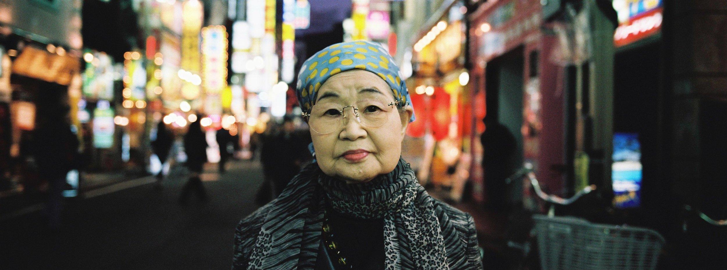 Shinjuku portrait -Tokyo