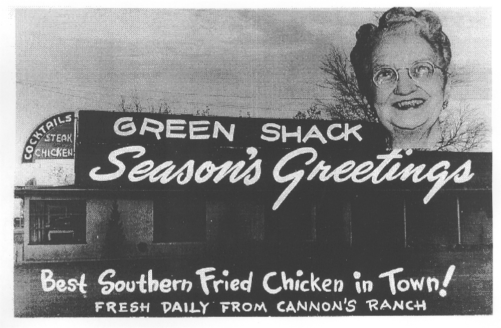 The Green Shack Christmas card