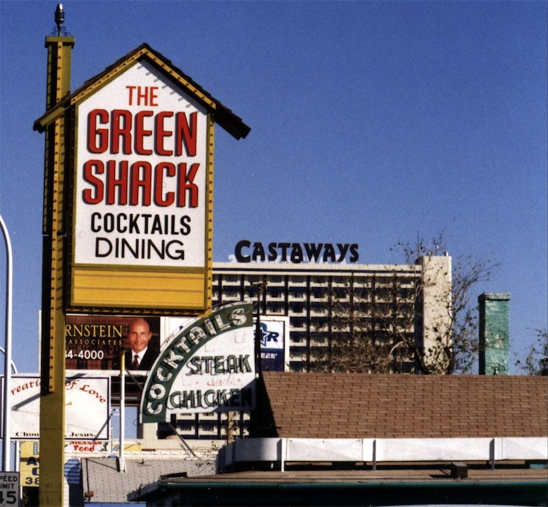 The Green Shack in 2000
