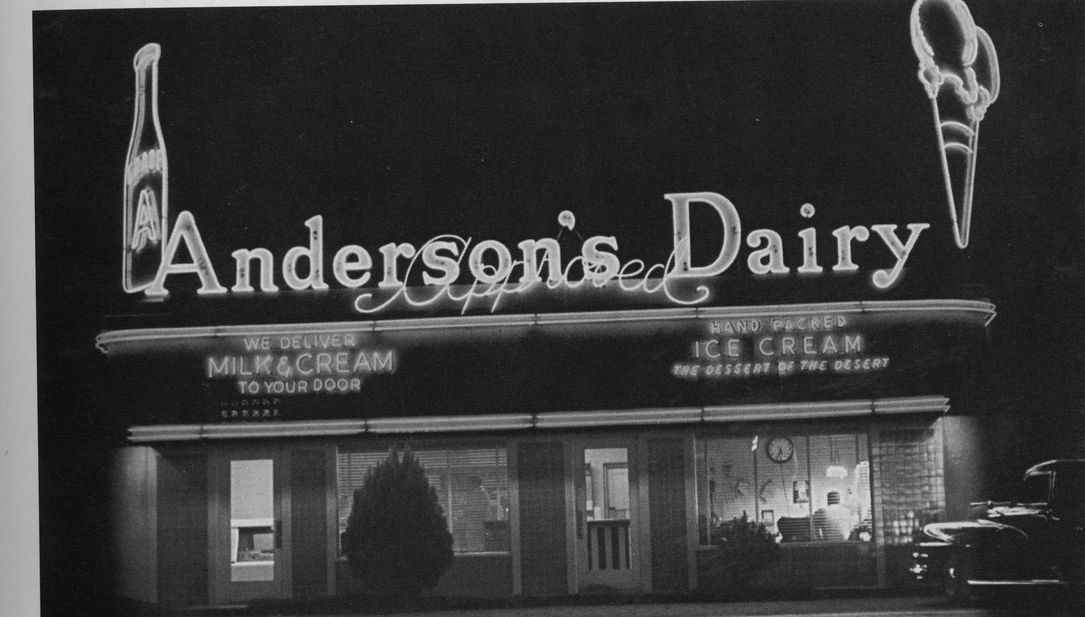 Anderson Diary 1940s