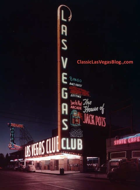 The Las Vegas Club, 1950s