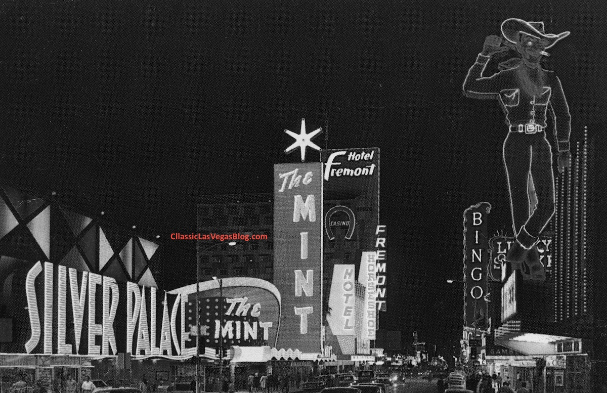 Fremont Street, early 1960s