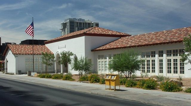 Historic Fifth Street Grammar School restored by the City of Las Vegas