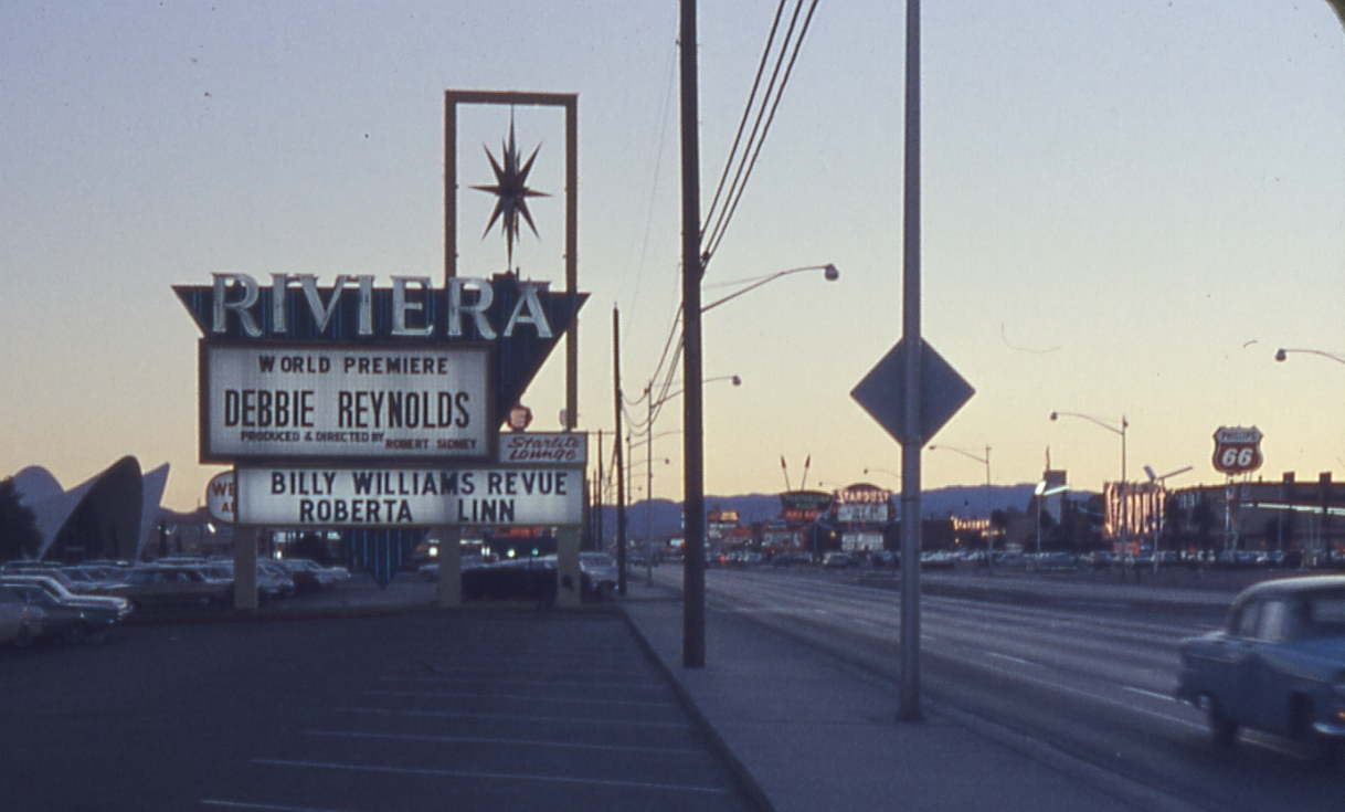 The Riv marquee