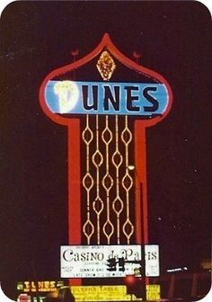 The Dunes Sign was always supposed to be there!