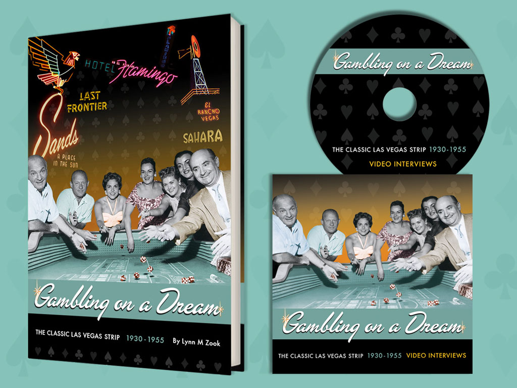 Gambling on a Dream paperback book and companion DVD