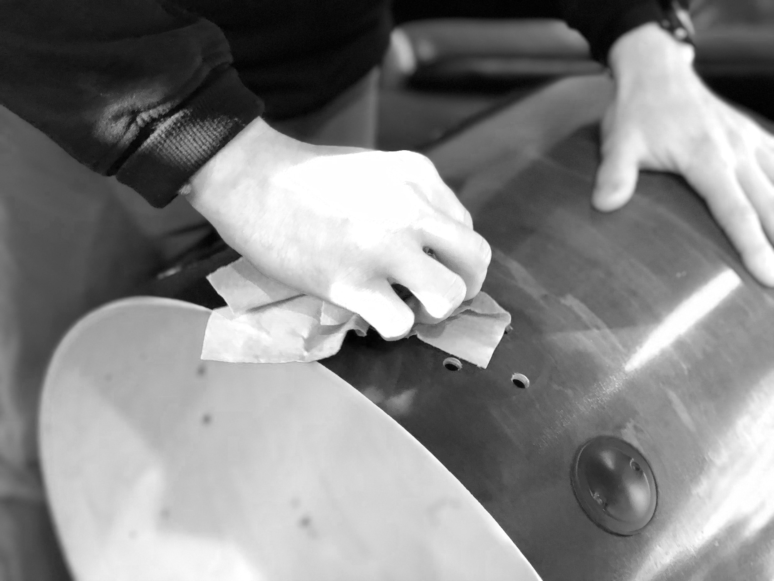 MAINTENANCE & REPAIRS - Show your drums some love with a tune up, deep clean, or restoration!