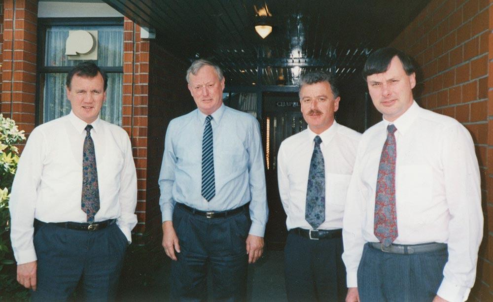 The Boys - Ian, Peter, Brian, and Derek Hope (circa 1991)