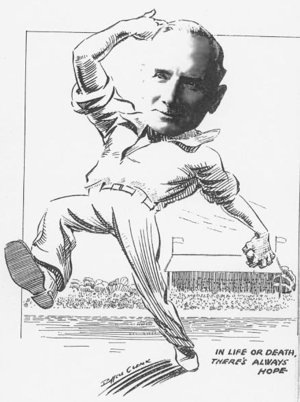 John Hope played (1885-1899) cricket for Otago