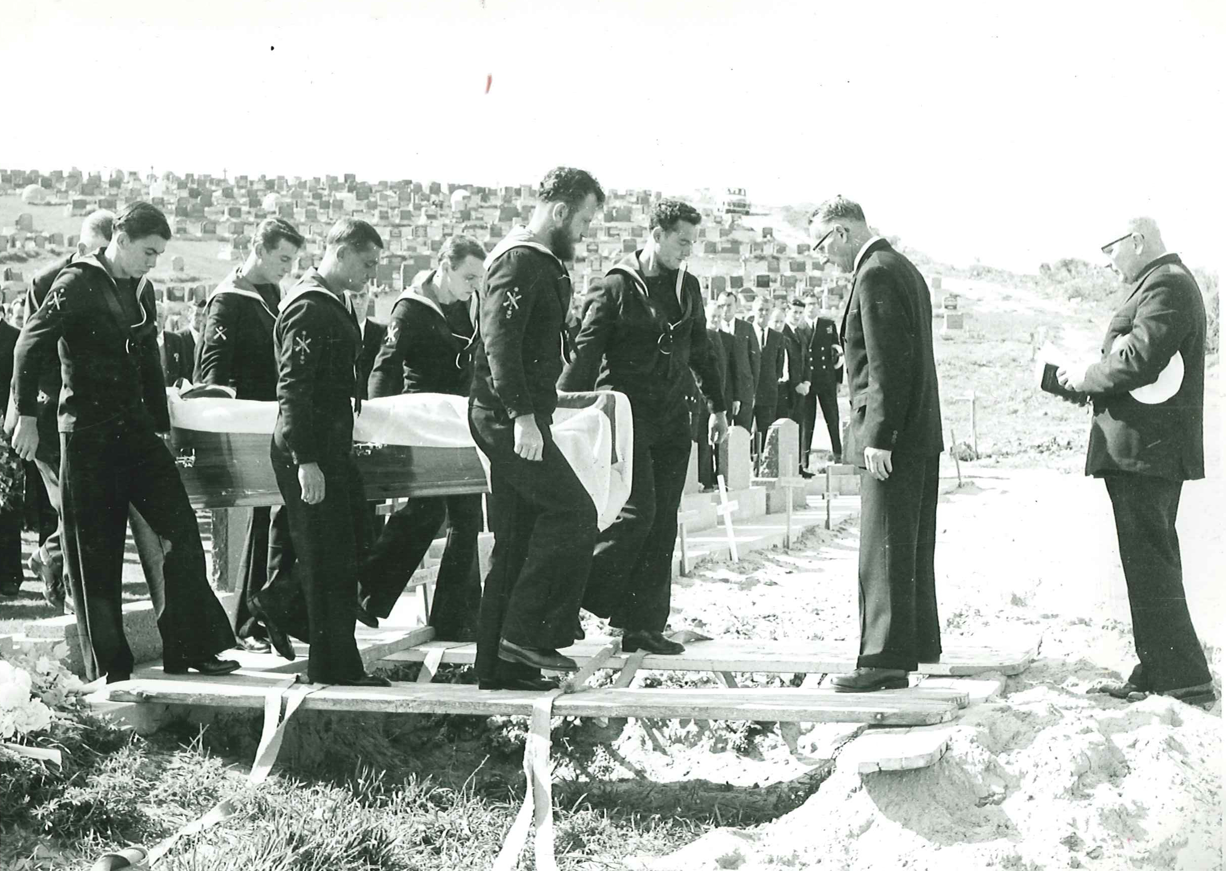 Burial at new ground at Andersons Bay Cemetery.jpg