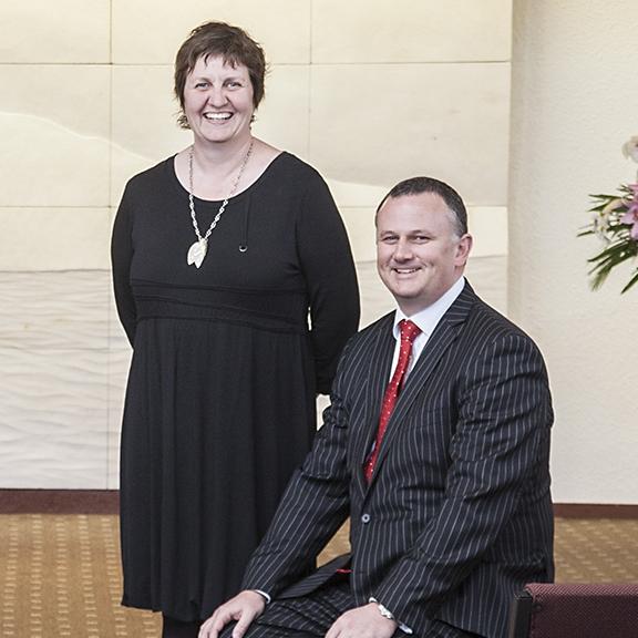 Liz and Lyndon Hope (circa 2013)