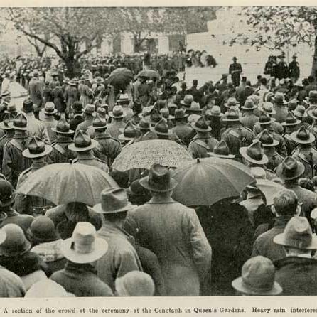 Dawn Parade 1936, Queens Gardens, Dunedin
