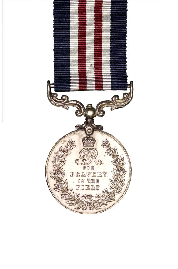 The Military Medal, 1918 as awarded to RH Flavell