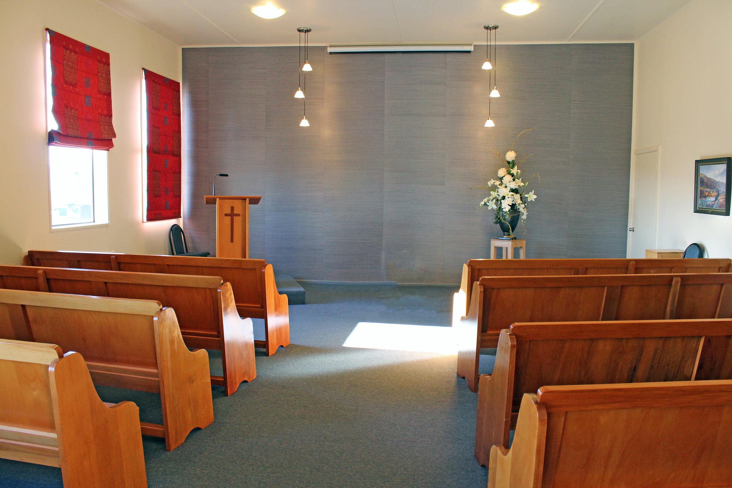 Hilltop Chapel Dunedin  183 Middleton Road Phone:  (03) 455 5074   View on Google Maps
