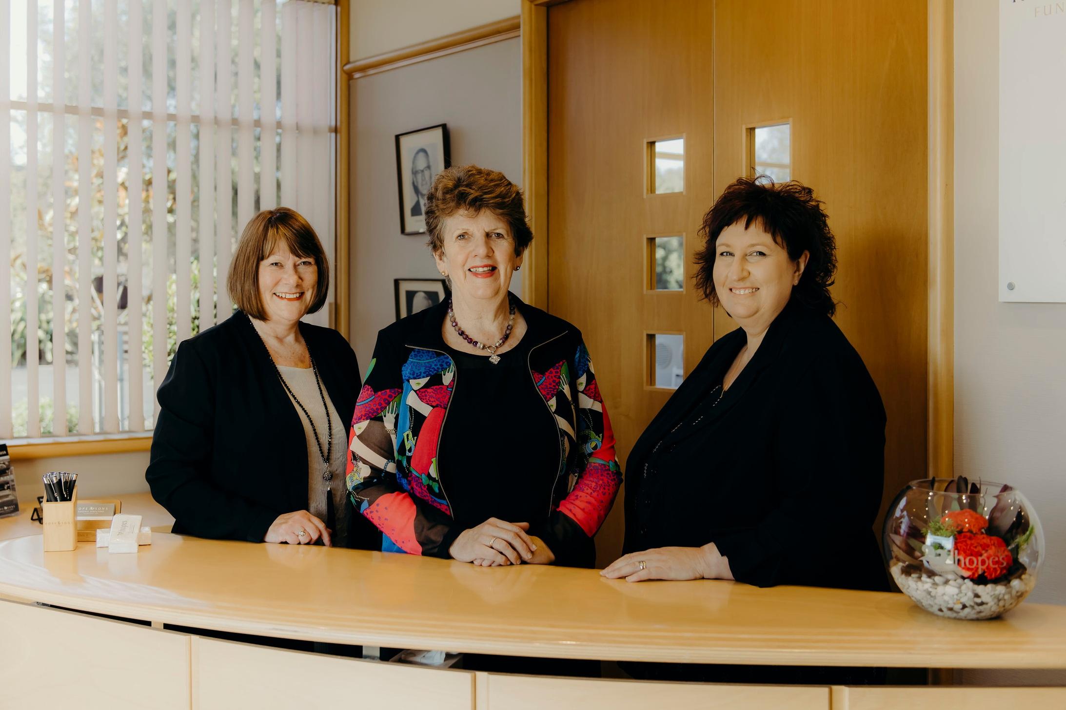 Barbara McClenaghan, Louise Wasley, Lisa Miles