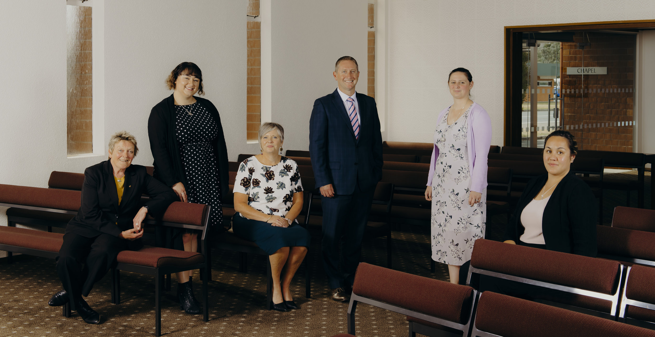 Hope and Sons Management Team (2019)   Robyn Thomson, Jodie Hope, Johanna Kinvig, Andrew Maffey, Melanie Pearson, Megan Te Amo.