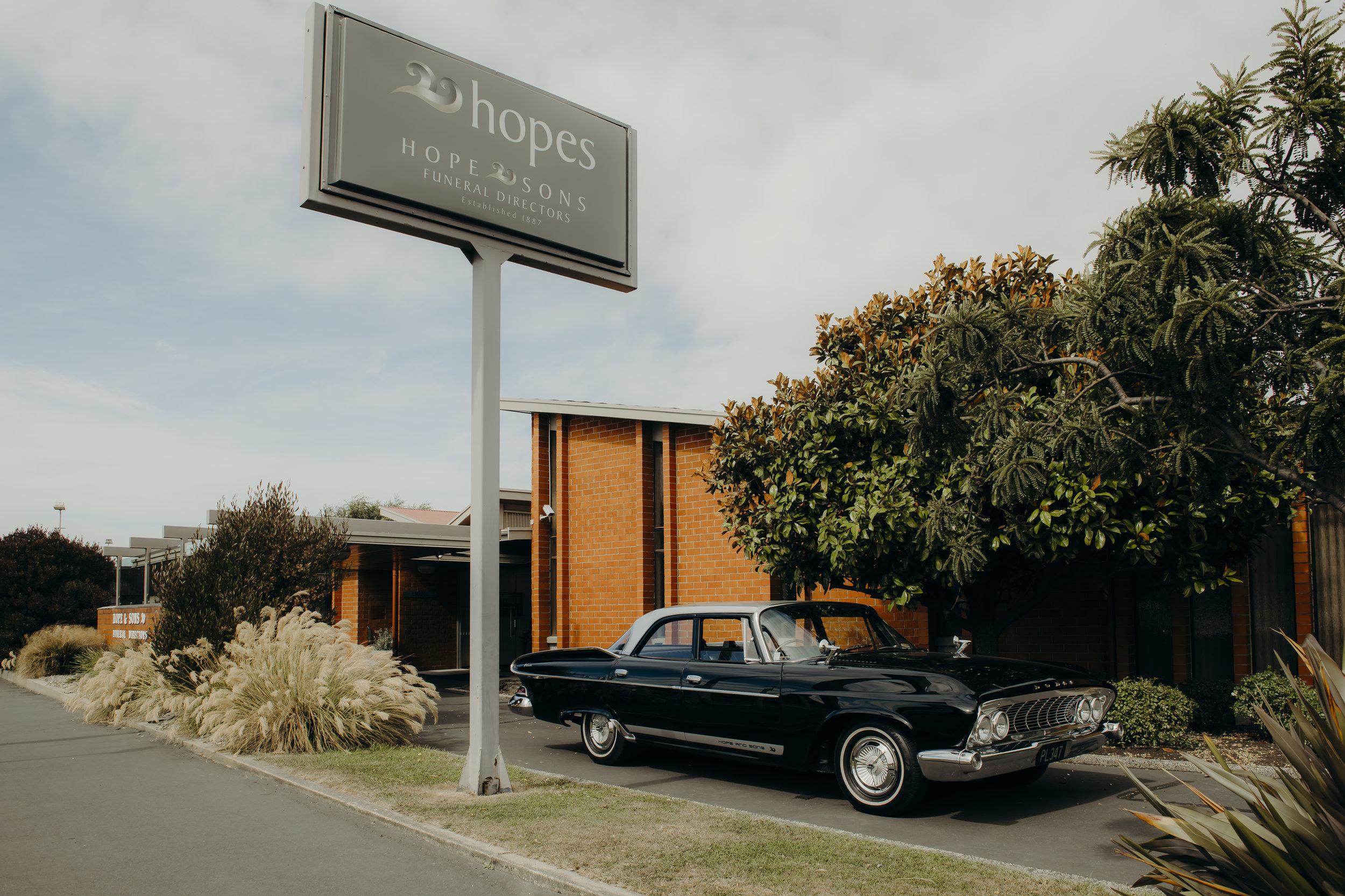 Hope and Sons — Funeral Directors, Dunedin, New Zealand