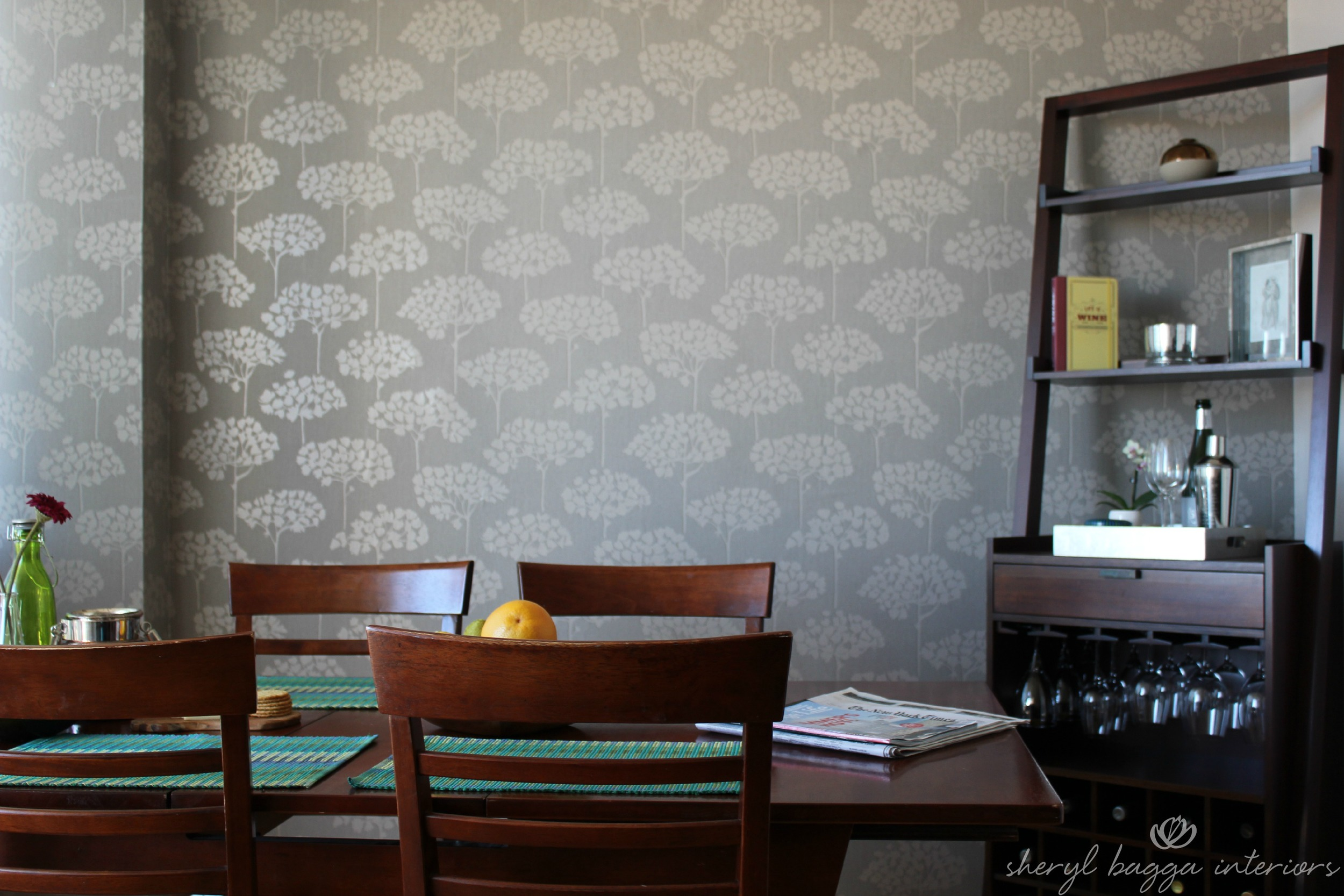 Matt & Mel - Dining Room Wallpaper