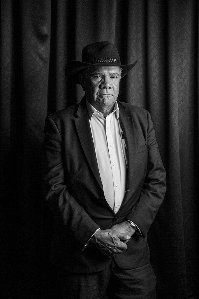 Australian Aboriginal Leader Mick Dodson, commissioned by Reconciliation Australia.
