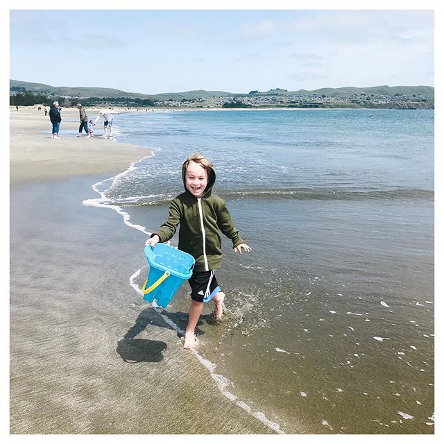 You've been 5 for one month. It's been an amazing month. Jack, Doran Beach, May 2019.