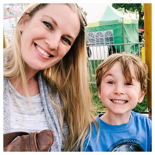 Jack and momma. Dixon May Fair, 2019. #jmdage5