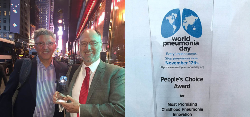 LPOS Wins World Pneumonia Day People's Choice Award.